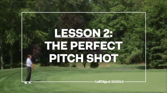 Lesson 2: The Perfect Pitch Shot