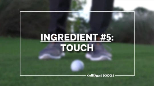 Ingredient #5: Touch