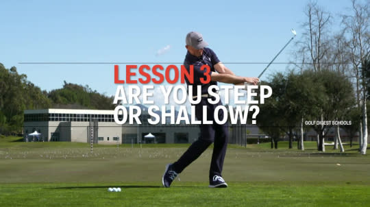Lesson 3: Are you Steep or Shallow?