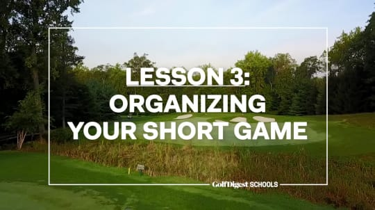 Lesson 3: Organizing Your Short Game