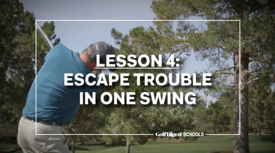 Lesson 4: Escape Trouble in One Swing