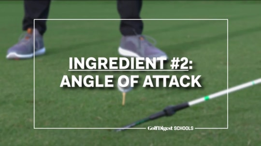 Ingredient #2: Angle of Attack
