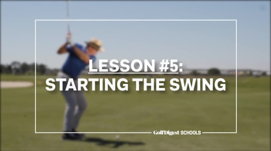 Lesson 5: The Swing Start