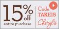 Cheryl's coupons