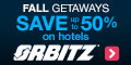 Orbitz coupons and deals