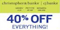 Christopher & Banks coupons and deals