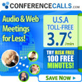 ConferenceCalls.com deals alerts