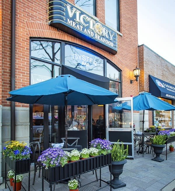 Victory Meat and Seafood - Entrance