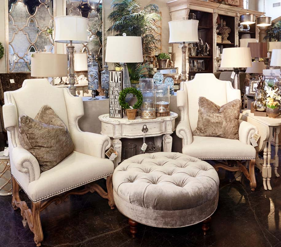 custom chairs and home decor