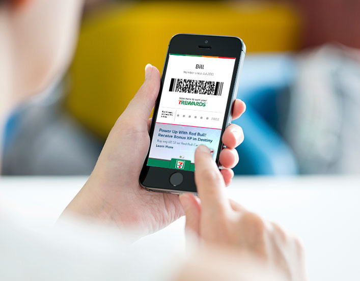 7 eleven customer loyalty program  mobile application