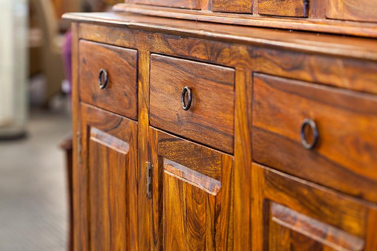 Handcrafted Wood Dresser