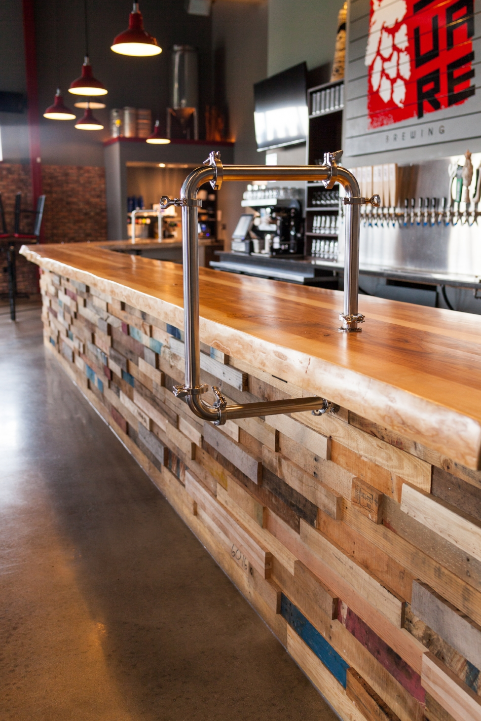 Custom Restaurant Woodwork