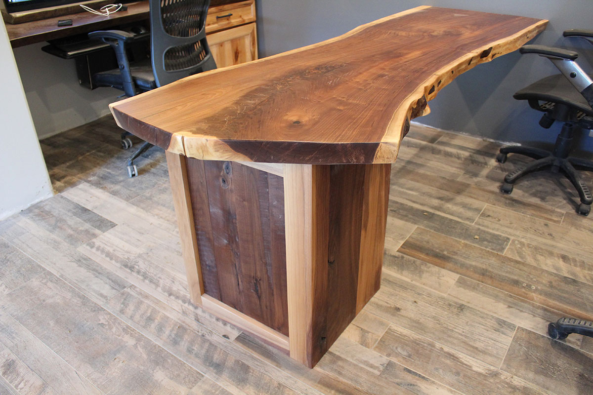 Custom Wood Desks