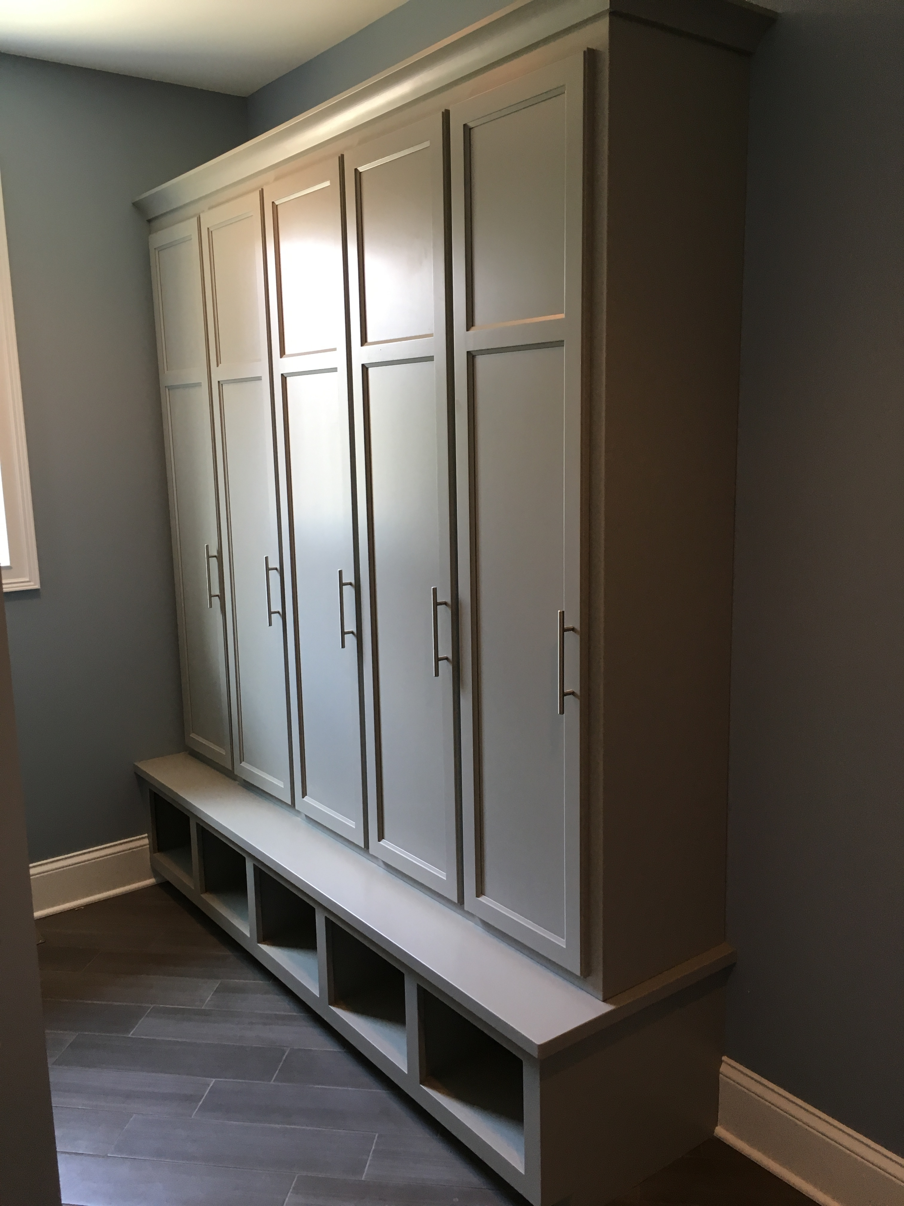 Custom Wall Built-In Cabinetry