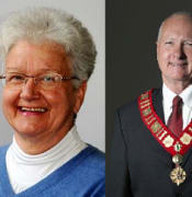 Mayors Bruce and Yvonne