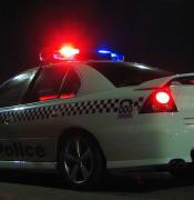 NSW Police car 2006 NYE