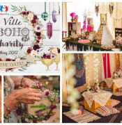 The Ville goes BOHO for Charity