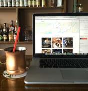 laptop on desk PIXABAY