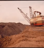 Strip Mining with Dragline Equipment at the Navajo Mine in Northern Arizona 06/1972