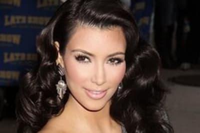 Kim Kardashian On Letterman - October 2009