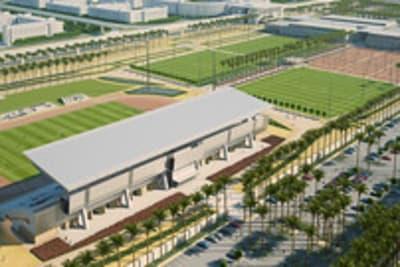 Sport Stadium | Exterior Rendering