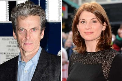 peter capaldi jodie whittaker dr who