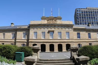 Parliament House Hobart Panorama