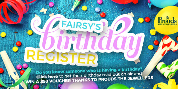 Birthday Register LAFM