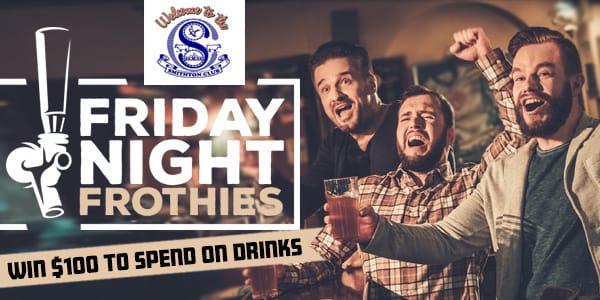 Fridaynightfrothies smithtonclub2
