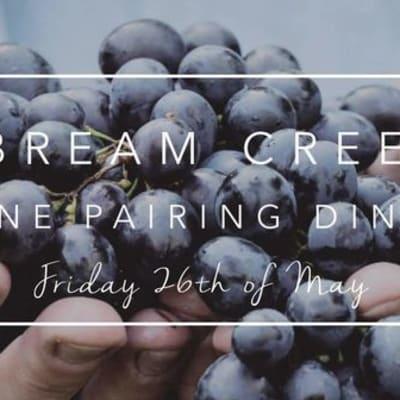 Bream Creak Wine Pairing