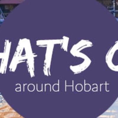Whats On Around Hobart page header