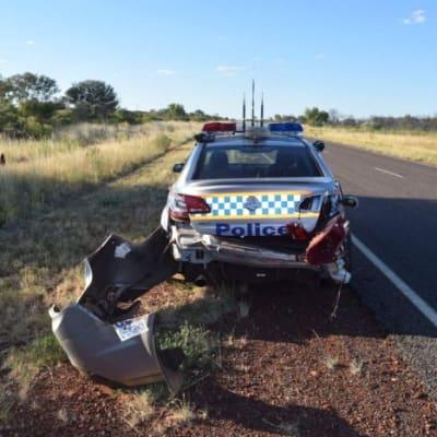 police car josiah binsaris NT POLICE