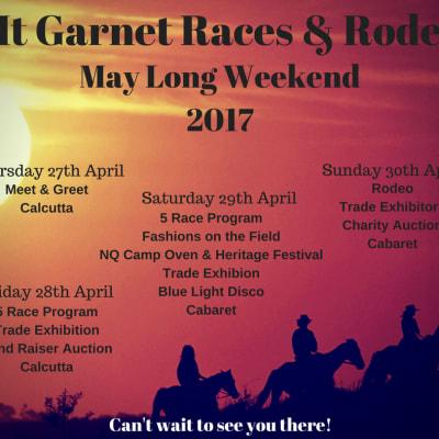 Mt Garnet Races Rodeo 2017