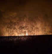 Sandhurst Crescent fire 1a