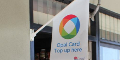 Opal Card Top up point