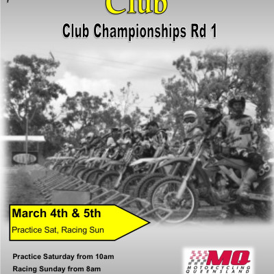 Club Championship Round 1