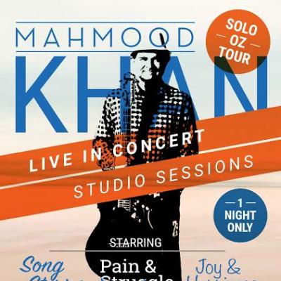 Mahmood Khan Live Acoustic studio sessions Oz Tour 2017
