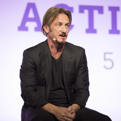 Sean Penn, Founder, J/P Haitian Relief Organization delivers a keynote speech at the LPAA Action Day