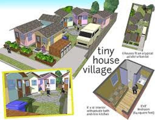 Tiny Home Village. Credit: alfredtwu CC 2.0.