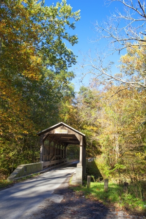 Herns Mill Covered Bridge in Greenbrier County