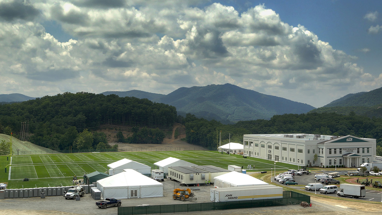 Houston Texans Training Camp at The Greenbrier Sports Performance Center