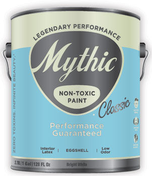 Mythic classic paint non toxic low odor affordable for Non toxic concrete cleaner