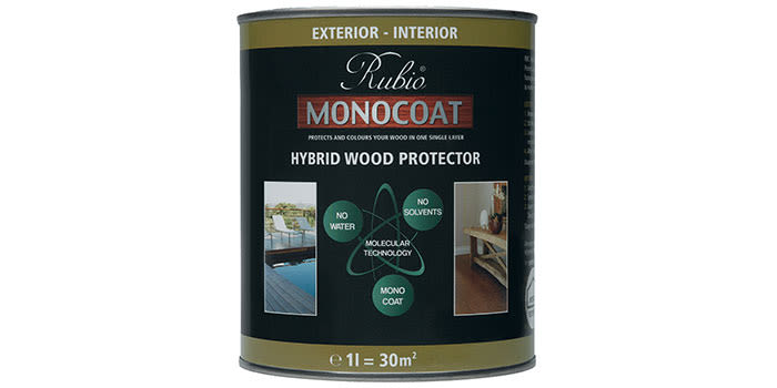 Rubio monocoat hybrid exterior wood protector non toxic low odor exterior - Rubio monocoat exterieur ...