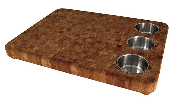 totally bamboo,  bowl large prep cutting board  green building, Kitchen design
