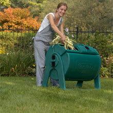 Sun Mar Garden Composter Easy to Use Continuous Composter