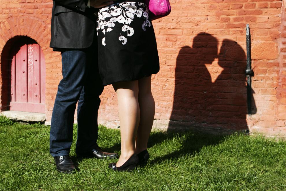 Photo volée pour un baiser volé