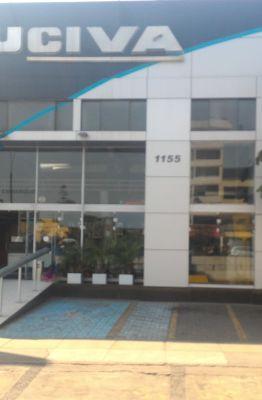 Entrada do terminal da empresa Excluciva