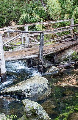 Capa Ponte sobre o Lago Chico, Parque Nacional Huerquehue (Marcos Borges/A 4 Pés)