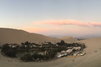 Huacachina - Oasis no Peru