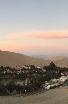 Huacachina - Oasis no Peru